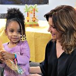 Martina McBride And Team Music Is Love Celebrate Young Mothers At Covenant House Shelter