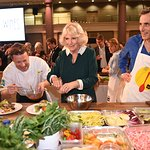 The Duchess of Cornwall Attends The UK CEO CookOff In Support Of UKHarvest