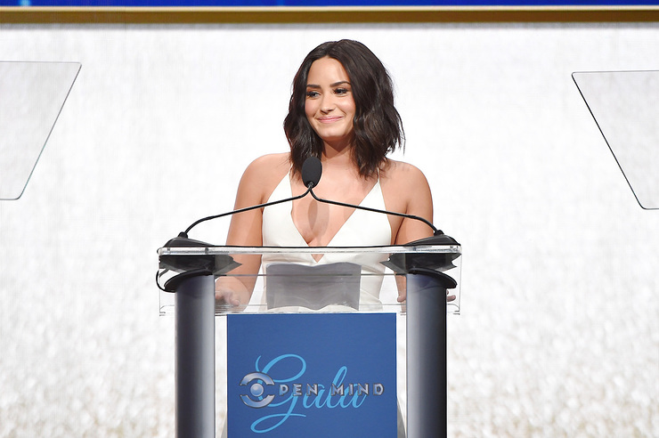 Demi Lovato Honored At Open Mind Gala
