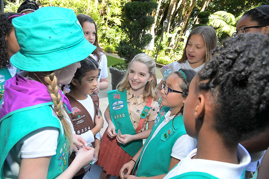 gifted star mckenna grace be es a girl scout   look to
