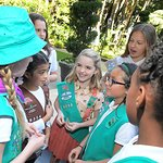 Gifted Star Mckenna Grace Becomes A Girl Scout