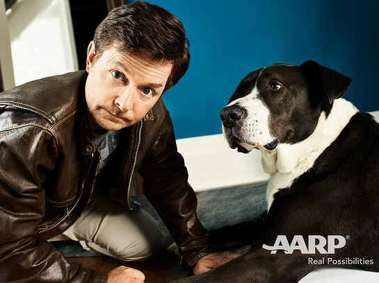 Michael J. Fox and Gus