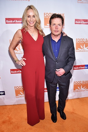 Michael J. Fox and Tracy Pollan at Food Bank for New York City Can Do Awards
