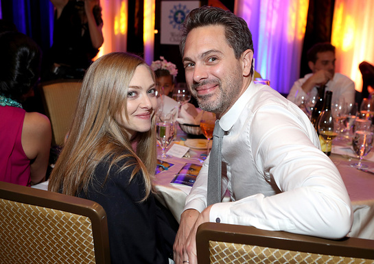Amanda Seyfried and Thomas Sadoski at 2017 World of Children Hero Awards