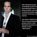 Nick Cave Supports Australian Aboriginal Elders To Create Suicide Prevention App