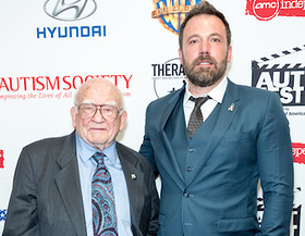 Ed Asner and Ben Affleck
