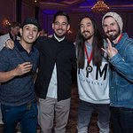 Linkin Park And Steve Aoki Host Music For Relief Poker Tournament