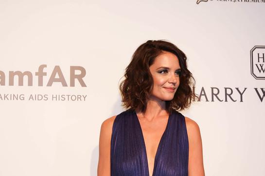 Katie Holmes at afAR Gala Sao Paulo