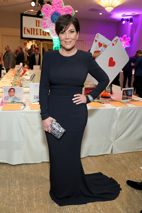 Kris Jenner Attends 24th Annual Race To Erase MS Gala