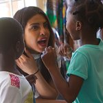 Priyanka Chopra Meets Child Survivors Of Sexual Violence In Zimbabwe