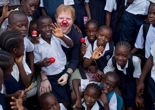 Ed Sheehan - Red Nose Day