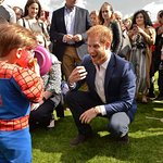 Royals Hold Party For Kids At Buckingham Palace