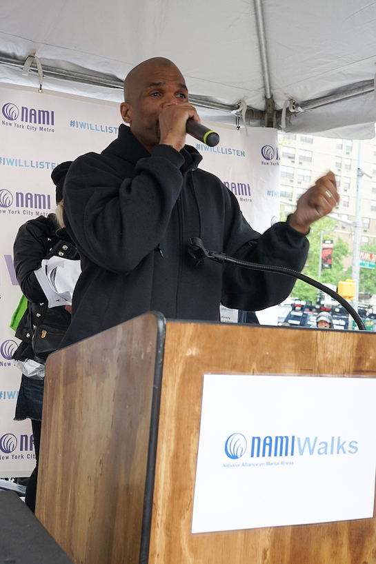 Darryl McDaniels at NAMIWalks NYC