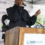 "Darryl ""DMC"" McDaniels Serves As Grand Marshall For NAMIWalks NYC"
