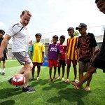 Arsenal Legend Opens New Football Pitches In Indonesia With Save The Children