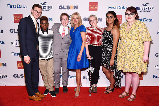 Dr. Jill Biden and GLSEN's National Student Council