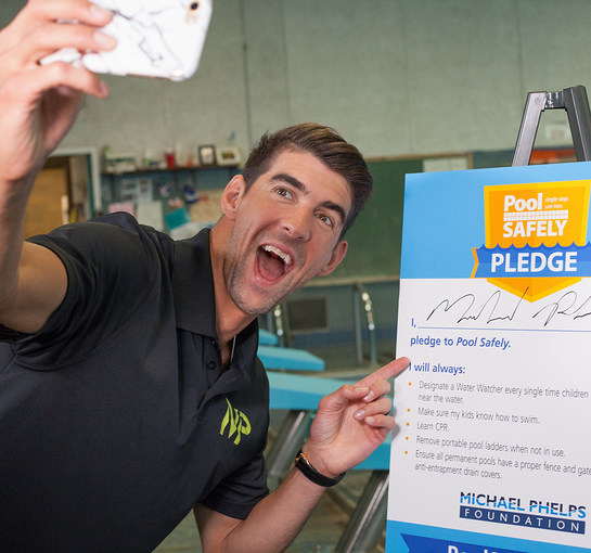 Michael Phelps - Pool Safely