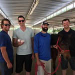 Los Angeles Dodgers Visit Gentle Barn