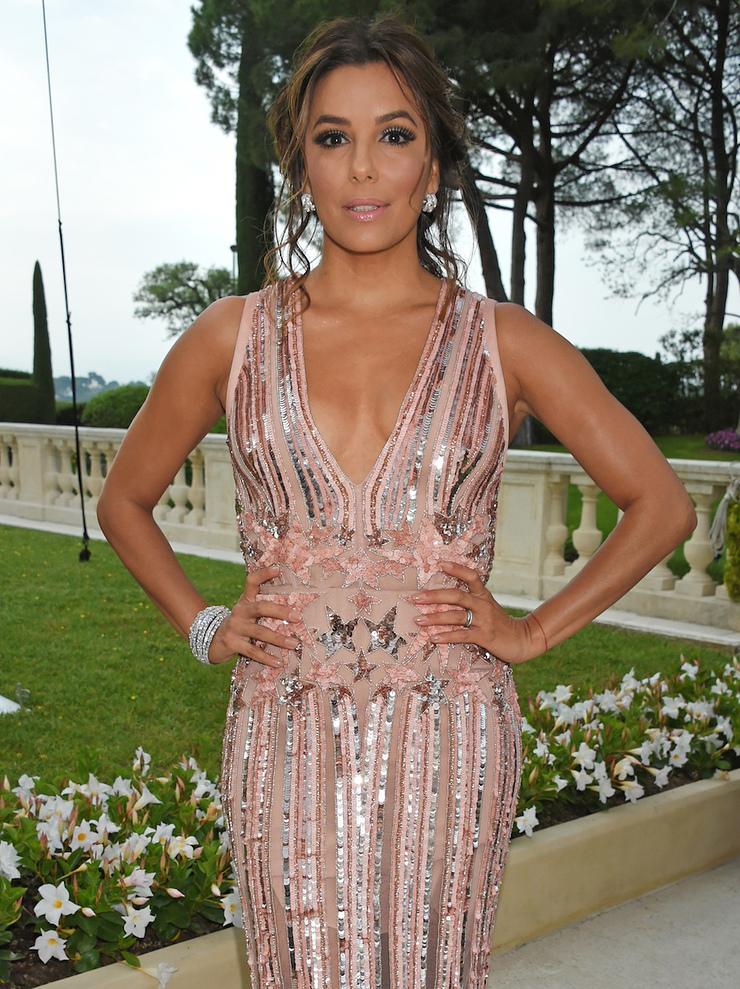 Eva Longoria at amfAR Cannes Gala