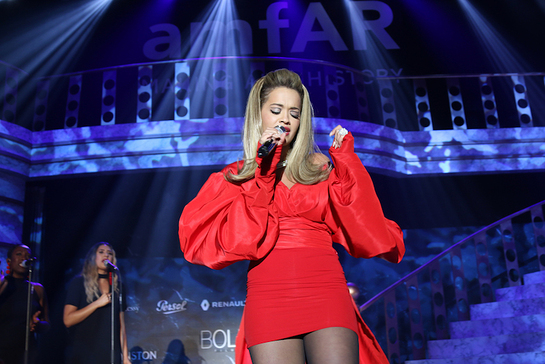 Rita Ora Performs At amfAR Cannes Gala