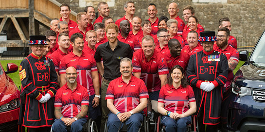 Prince Harry Meets UK Team For Invictus Games