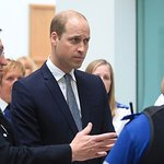 Prince William Visits Manchester