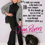 Joan Rivers Stars In Posthumous PETA Campaign