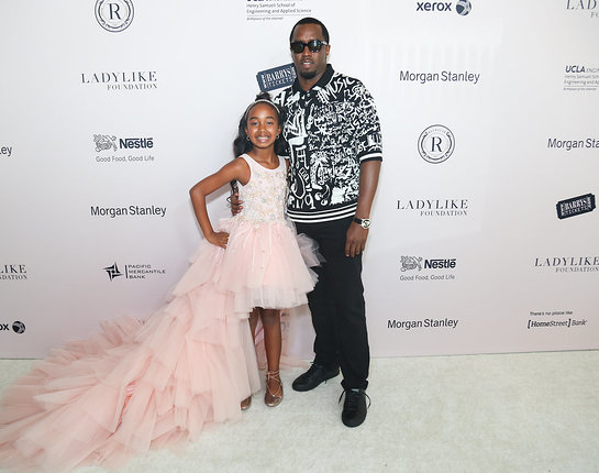 P. Diddy Attends LadyLike Foundation 9th Annual Women of Excellence Awards Luncheon