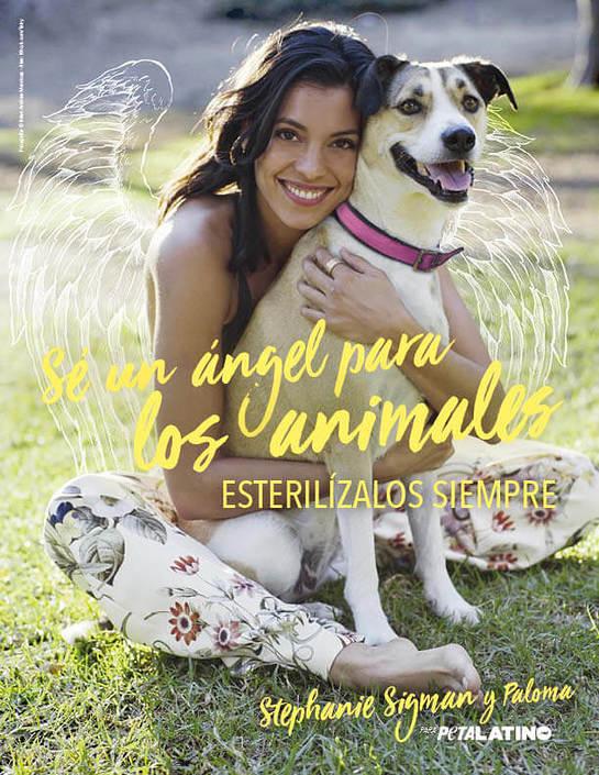 Stephanie Sigman PETA Latino Ad Campaign