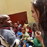 Angelina Jolie Appeals For Child Refugees In Nairobi