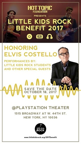 Little Kids Rock Honor Elvis Costello