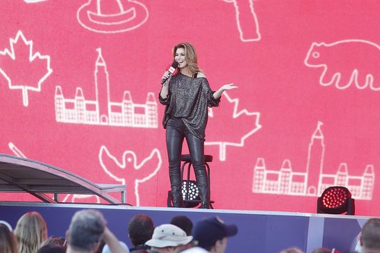 Shania Twain at WE Day Canada