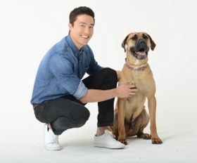 Daniel Henney with Clint