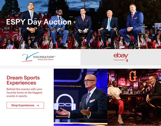 2017 ESPY charity auction