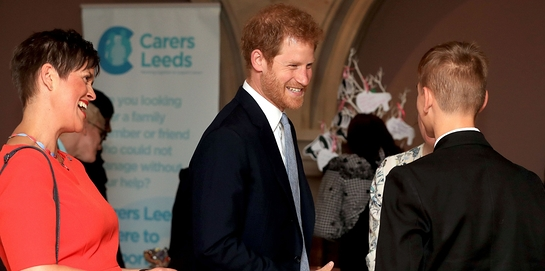 Prince Harry visits Leeds