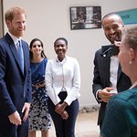 Prince Harry Visits London School Of Hygiene And Tropical Medicine