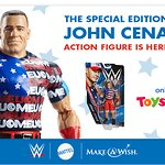 Make-A-Wish To Benefit From Limited-Edition WWE Superstar John Cena Action Figure