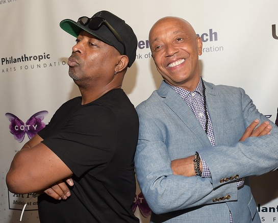 Chuck D and Russell Simmons