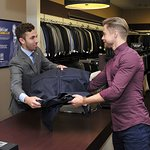Derek Hough And National Sports Coaches Support 10th Annual National Suit Drive