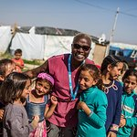 Angelique Kidjo Meets Syrian And Lebanese Youth In Refugee Settlements