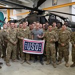 Bryan Cranston Wraps Up Day Two Of His First-Ever USO Tour