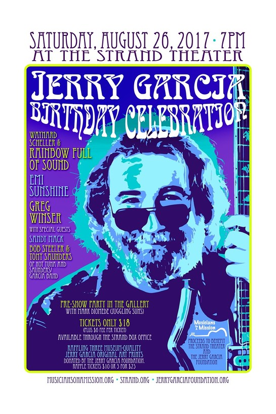 Jerry Garcia Birthday Benefit Concert
