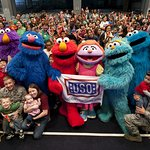 Sesame Street And The USO Hit The Road
