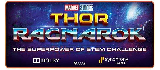THOR: RAGNAROK SUPERPOWER OF STEM CHALLENGE