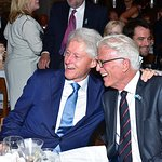 Bill Clinton Honors Ted Danson At Oceana Gala