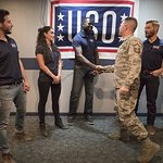 Cast Of NBC's The Brave Wrap Up First-Ever USO Tour To Kirtland Air Force Base