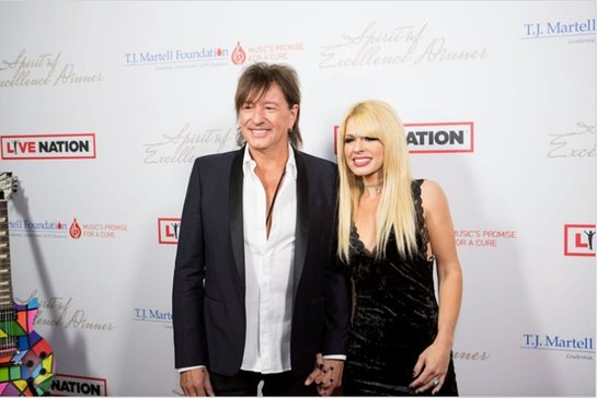 Richie Sambora and Orianthi Attend & Perform at T.J. Martell's Spirit of Excellence Dinner