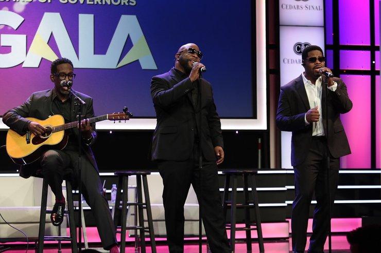 Boyz II Men Perform At 2017 Cedars-Sinai Board of Governors Gala