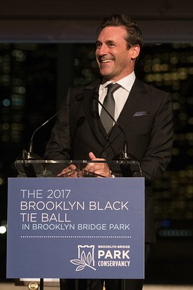 Jon Hamm Attends Brooklyn Black Tie Ball