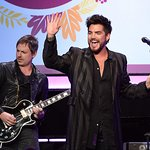 Adam Lambert Performs At Star-Studded Point Honors Los Angeles
